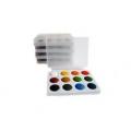 Acuarele scolare 12 culori - tip Colibri