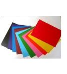 Carton colorat 210g A4 - set 10 culori